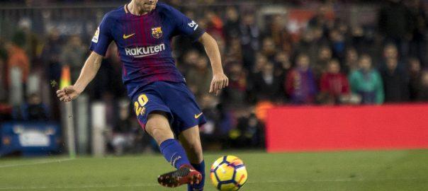 Barcelona med Sergi Roberto carnicer kontraktsperiode er til 2022 år