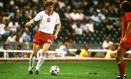 Den første fotballstjernen til Polen nasjonalteam er Zbigniew Boniek
