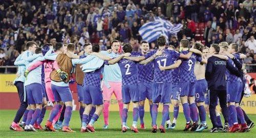 Kroatia lag har kommet inn i VM for femte gang