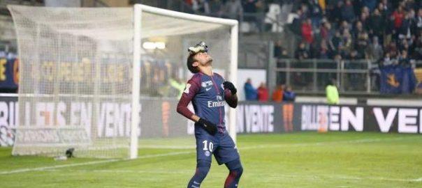 Paris saint-germain PSG i fransk league cup 18 vinnende strikke