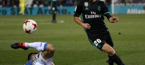 Real Madrid vant enda et spill