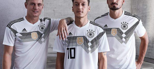 Tysklands nasjonale lag VM fotballskjorta er blitt annonsert