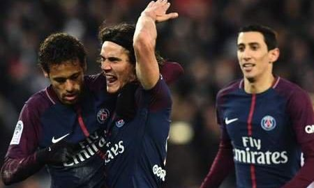 Paris Saint-germain PSG kvalifiserer vellykket til fransk ligakampfinalen